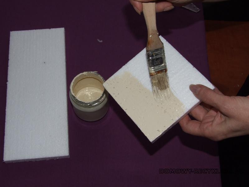 Malujemy styropian