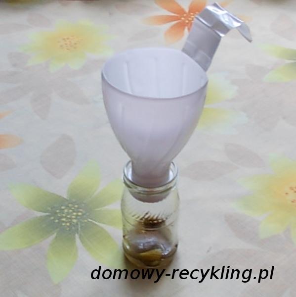 Lejek do słoików z plastikowej butelki