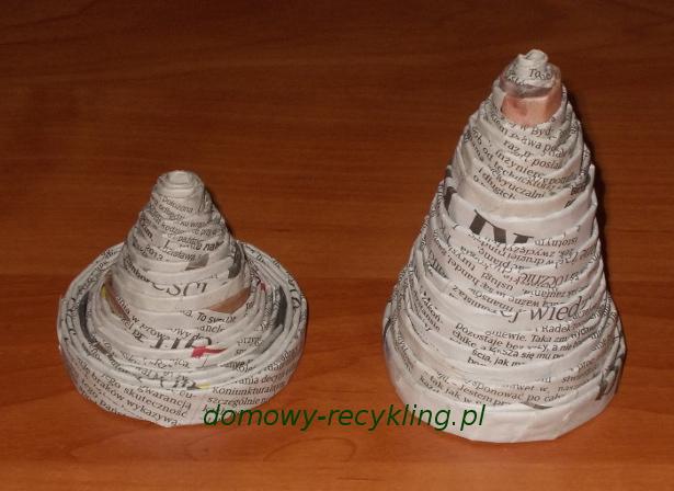 Dzwonki z papierowej wikliny