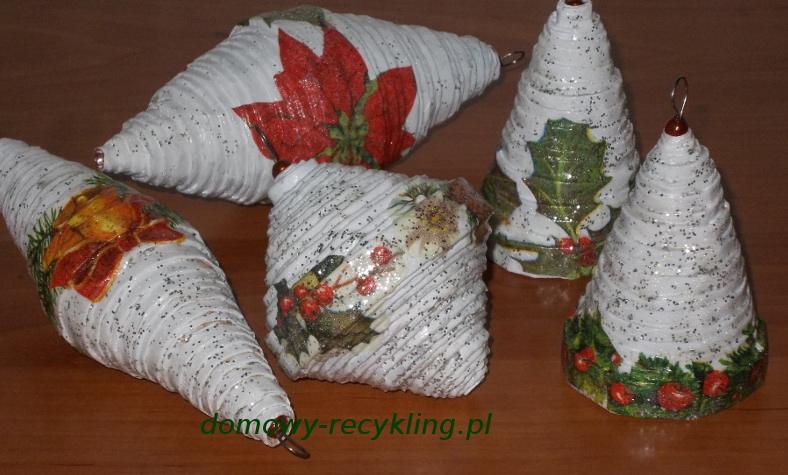 Ozdoby  z papierowej wikliny
